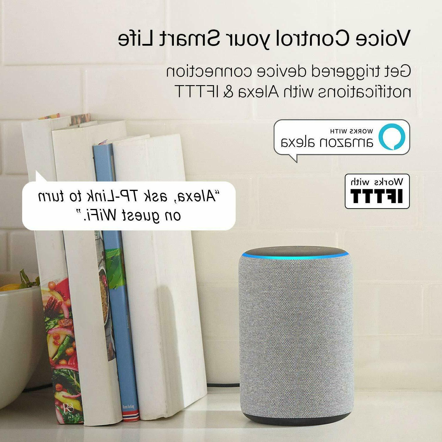 Smart WiFi Router Speed MIMO Dual Band Works with Alexa