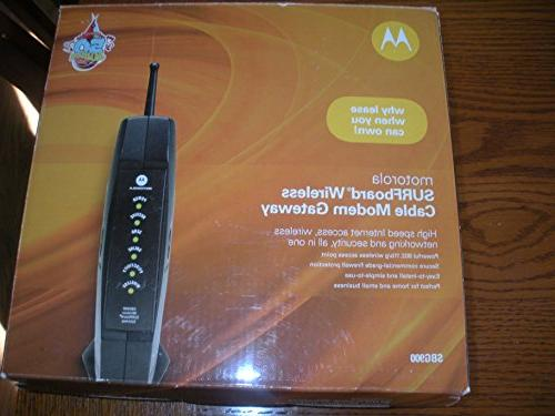 surfboard sbg900 modem cable