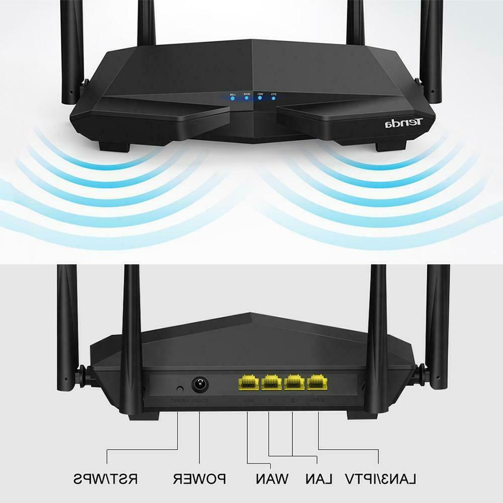 Tenda AC6 1200Mbps Wireless WiFi Router 4-Antenna 2.4GHz/5.0