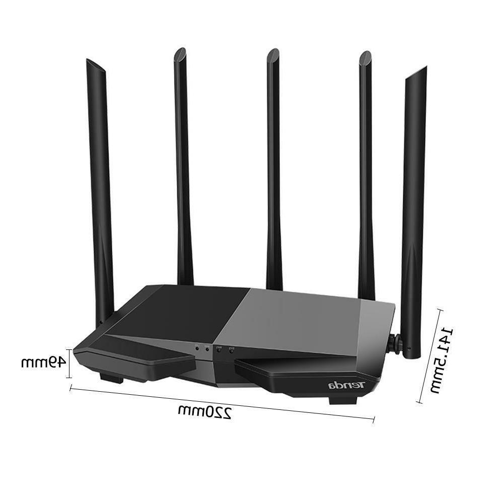 Tenda AC7 1200Mbps Wireless WiFi Router Band Remote