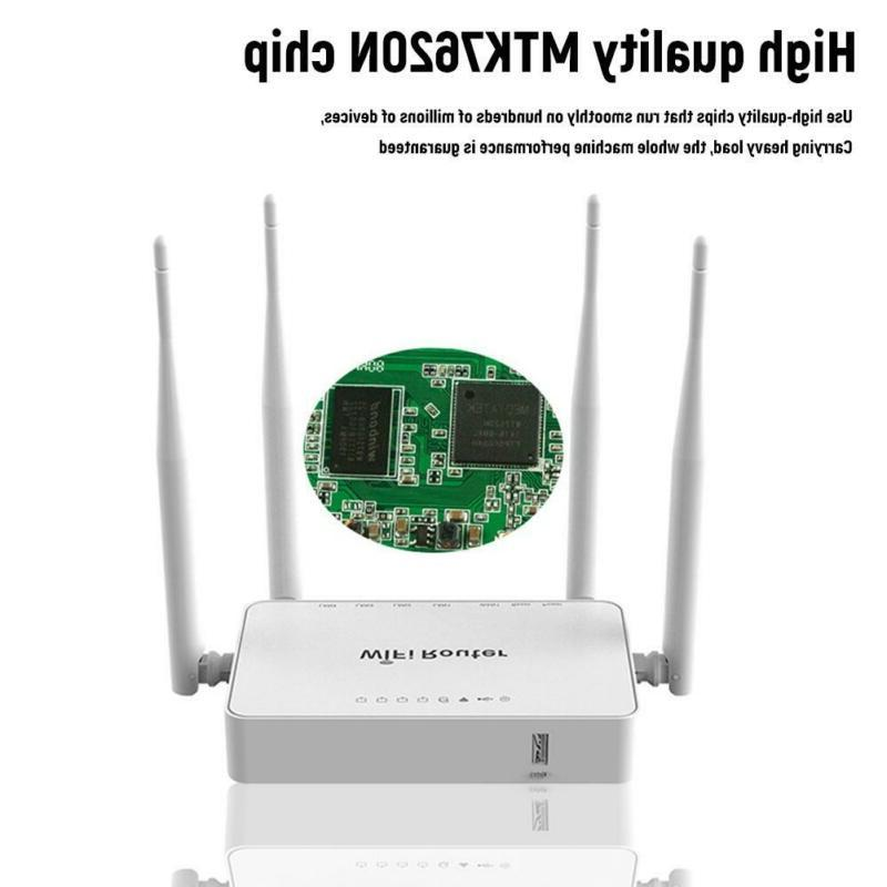 Unlocked 4G Router Wireless with sim slot RJ45