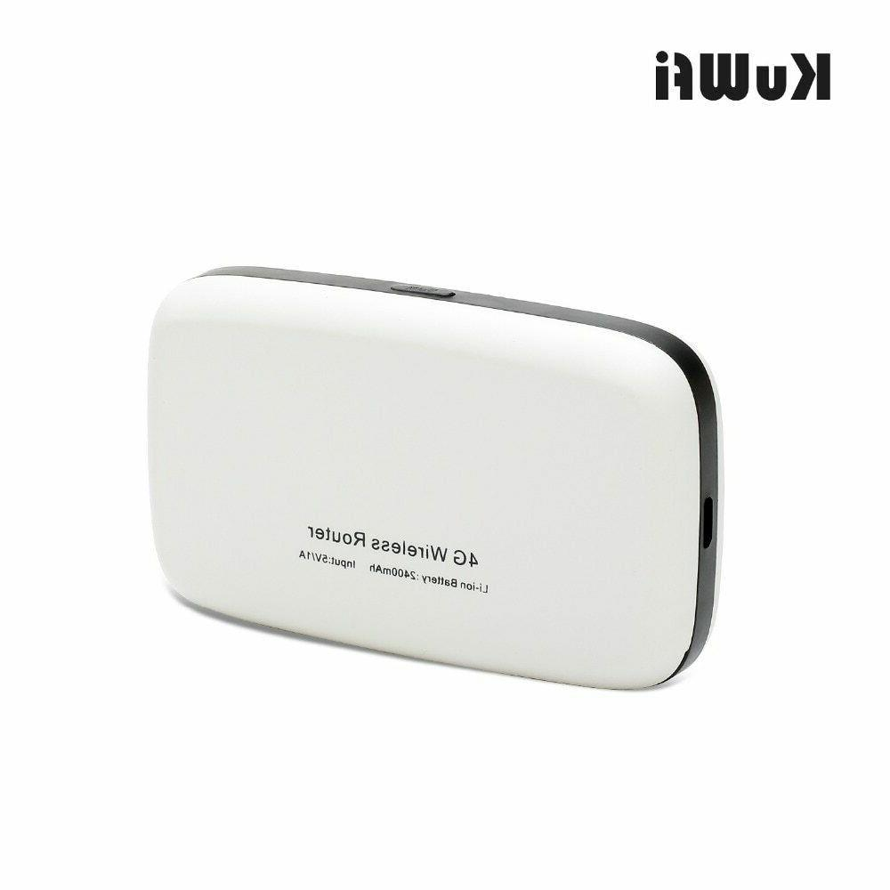 KuWFi Travel 4G Router With Card Solt