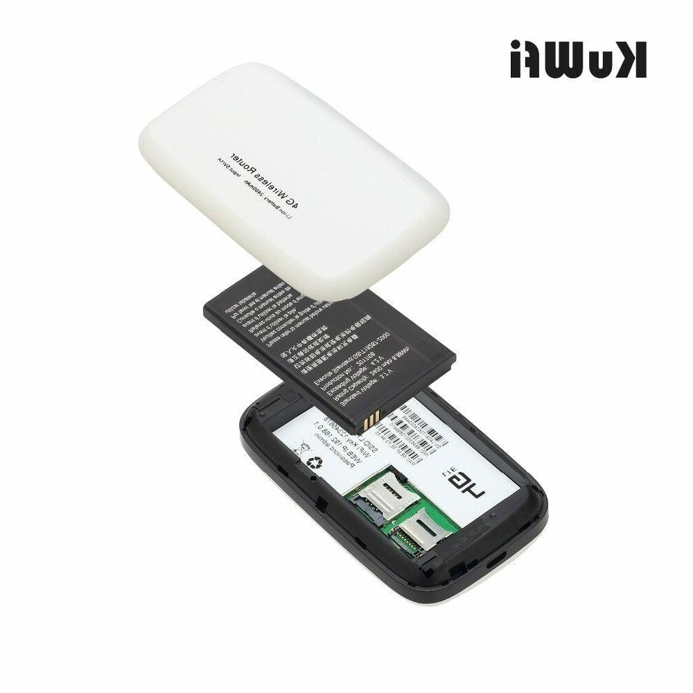 KuWFi Unlocked 4G Router With Solt Wi-fi
