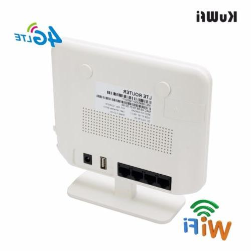router unlocked modem slot LAN