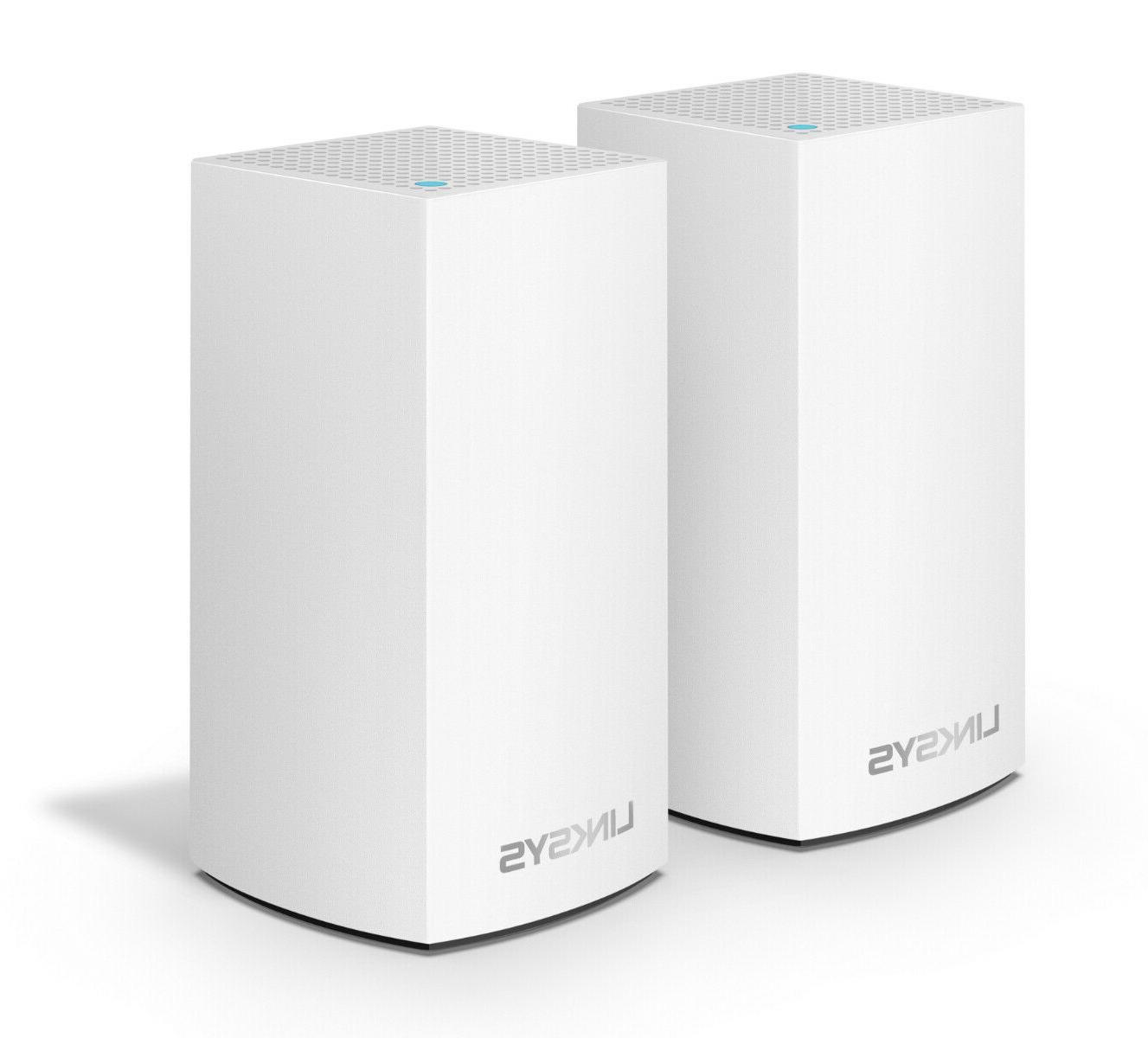 Linksys VELOP 2-Pack Whole Home Mesh System AC2400 New Sealed