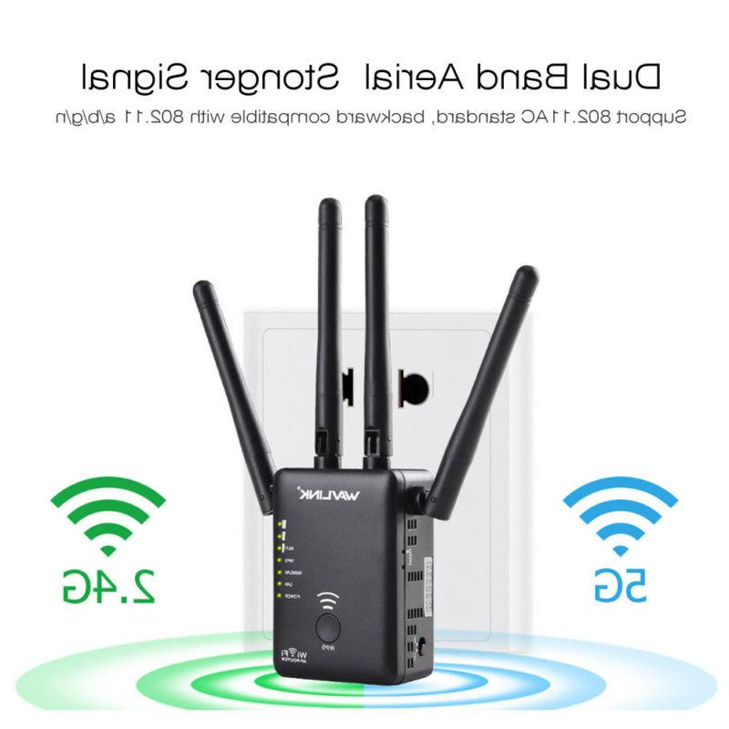 Wavlink AC1200 Dual Band Repeater&Router,2.4G& 5G Wireless W