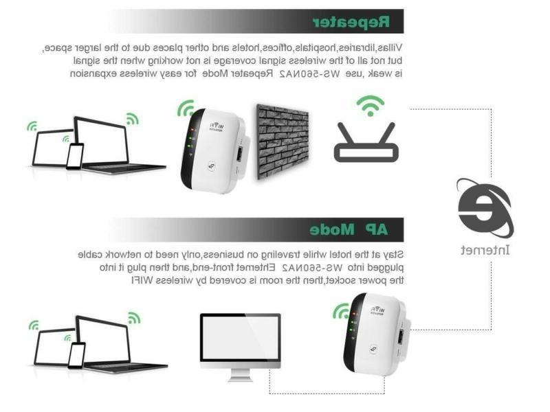 WiFi Booster with Range Wireless Network Router