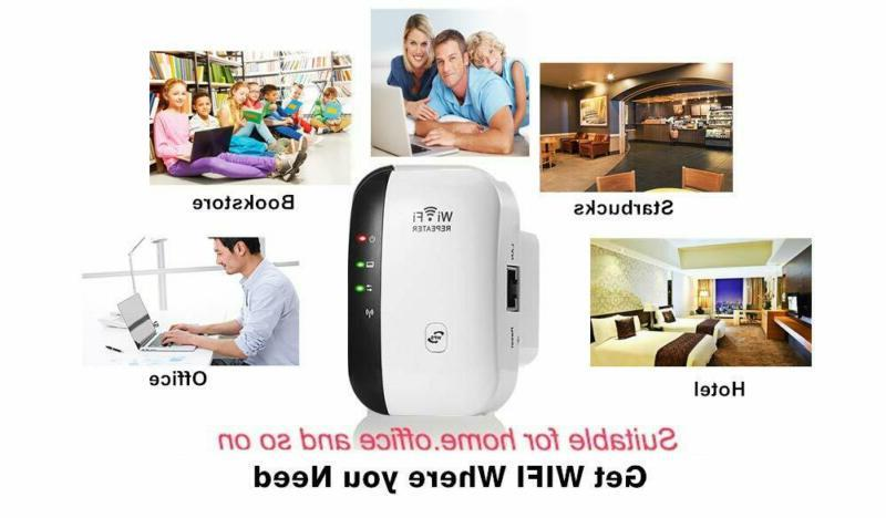 WiFi Booster Range Wireless Network Router Signal