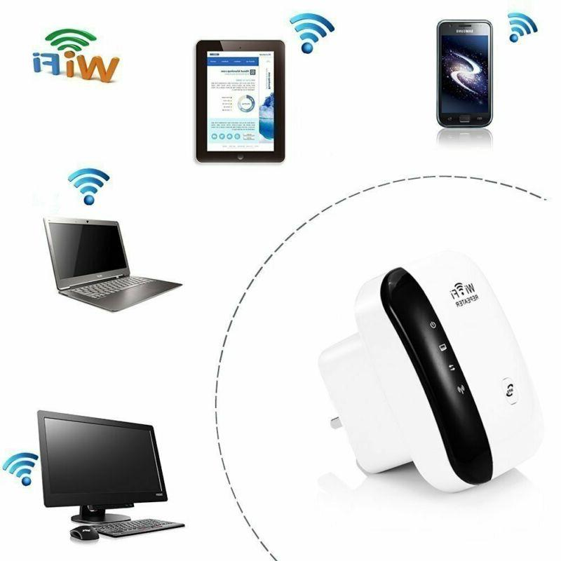 WiFi 300Mbps Range Wireless Router AP Signal Amp