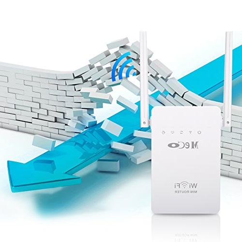 WiFi Extender, 300Mbps Camera WiFi Smart Gain Antennas and Extend WiFi