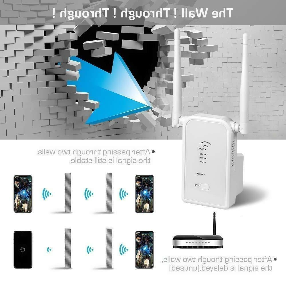 WiFi Extender N300 Wireless Repeater/AP/Router Mode 2.4