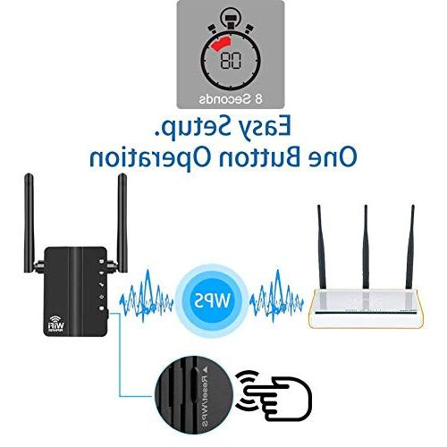 Ocamo Wi-Fi Wireless Repeater Signal Booster US