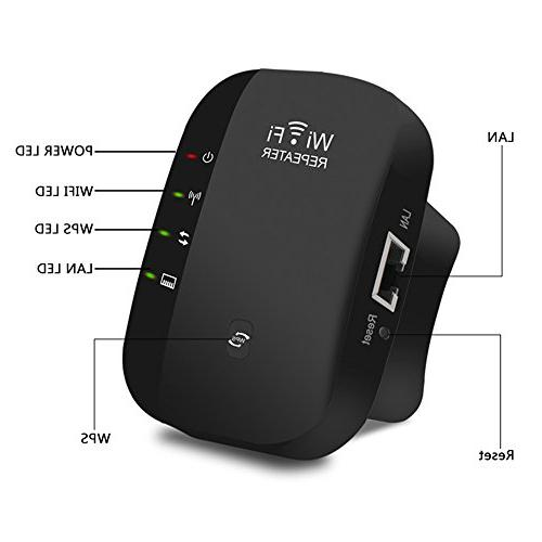 WiFi Wireless Portable in Access Mode Min Plug & Play, Ethernet Button,Complies