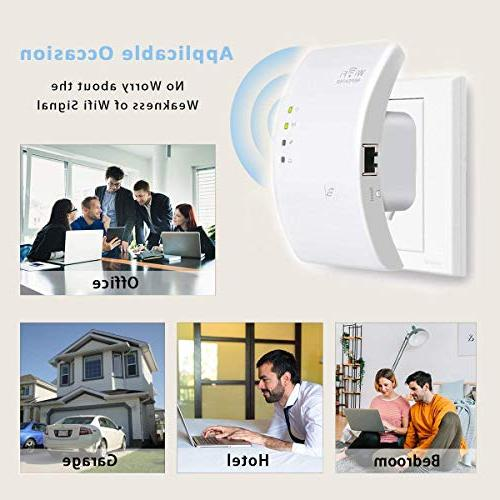 MECO WiFi Range Wireless Signal Supports Point/Router with Two Network