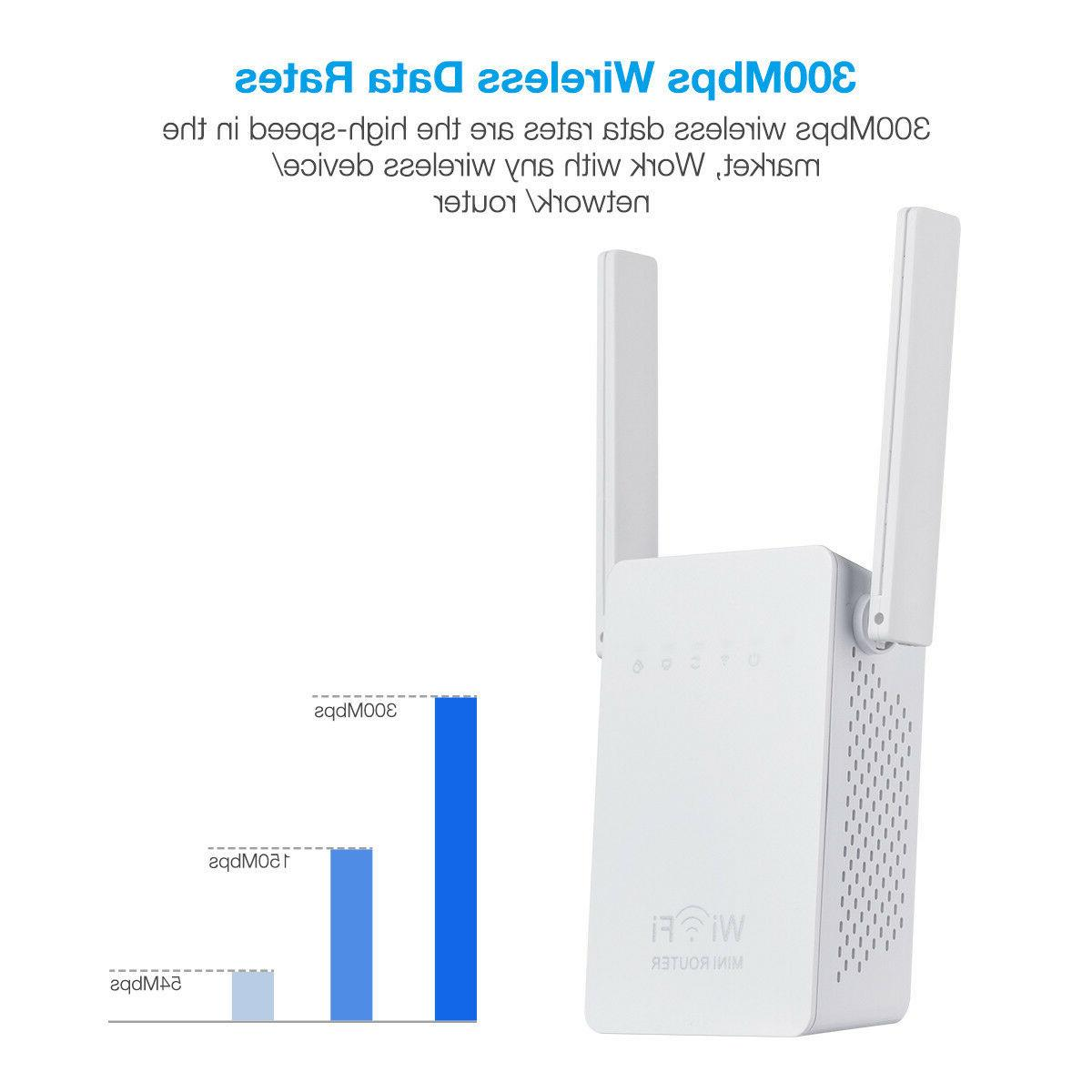 300Mbps WiFi Repeater Signal Network