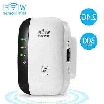 300Mbps Wireless WiFi Repeater Range Extender Network Router