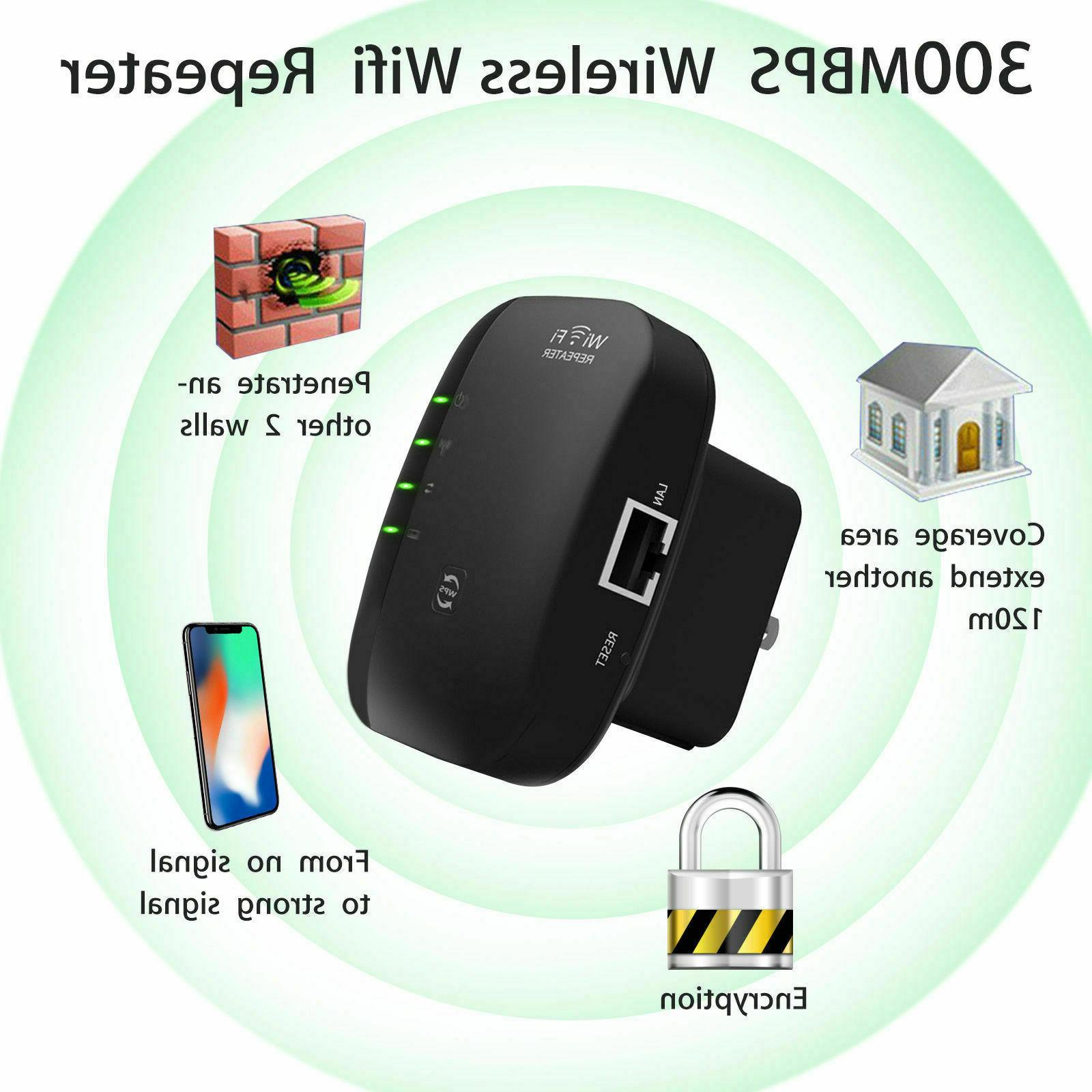 Wifi Repeater 300Mbps 802.11 Extender