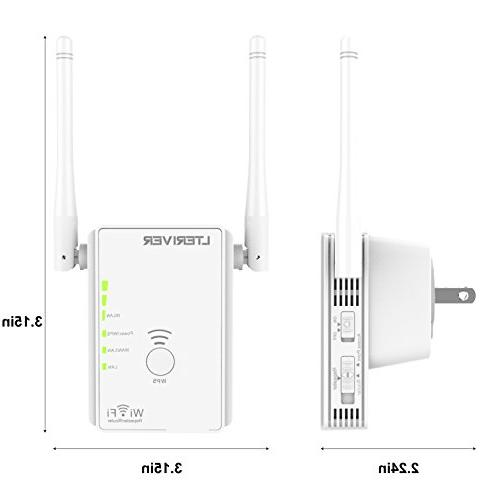 LTERIVER Repeater Extender WiFi Signal Router Access Point With WiFi Antenna Management