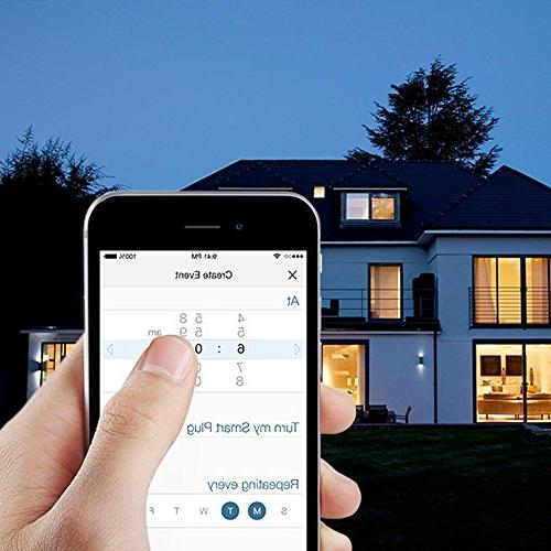 AMAKE WiFi Smart Intelligent Household Appliances,Remote App for iPad Android ,Control from Anywhere