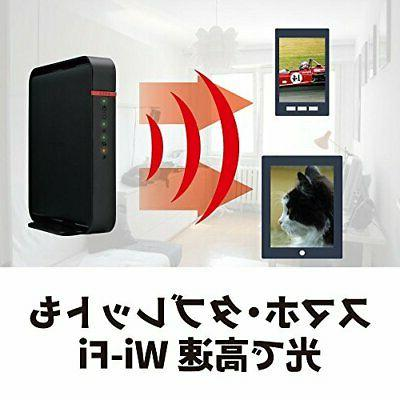 BUFFALO WiFi router WHR-1166DHP4 ac1200 866 300Mbps