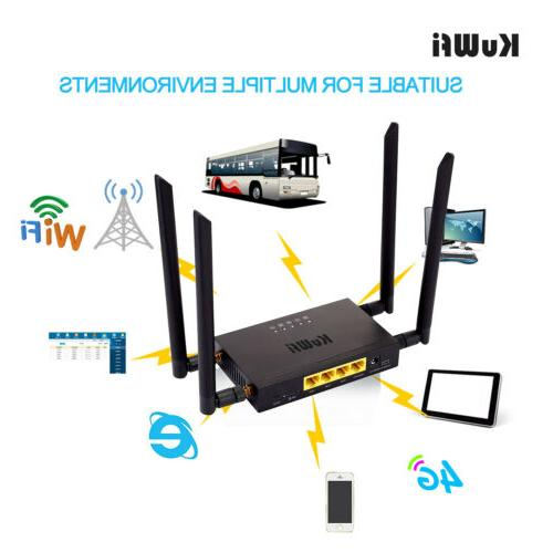 Wireless CPE Router Cat With 4pcs External