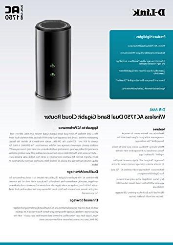 D-Link Beam 1750 Cloud App-Enabled Router