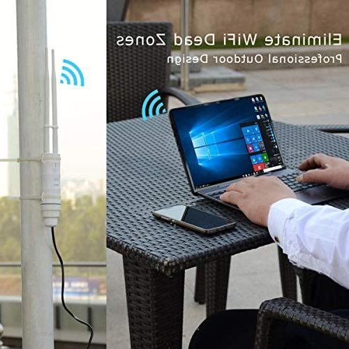 WAVLINK AC600 Point High Band 600Mbps Router/AP/Wi-Fi Range 3 in 1 Weatherproof PoE, Upgrade