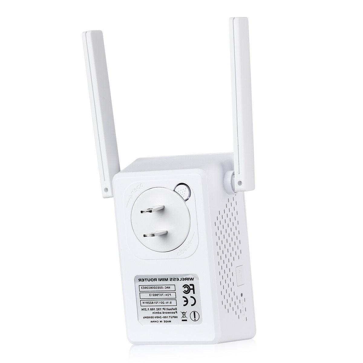 300Mbps Repeater Range Signal Network Router US