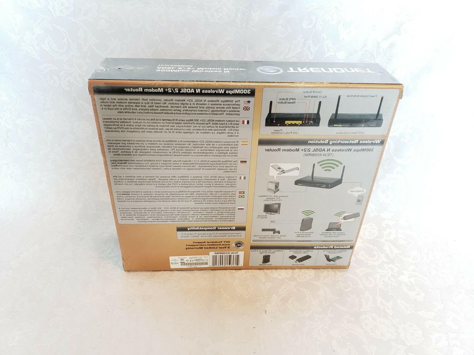 TRENDnet Wireless N Mbps Router,