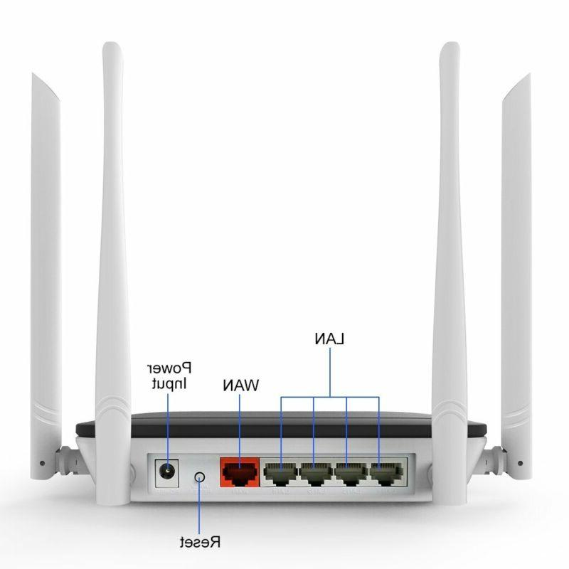 Wireless Router Repeater Range