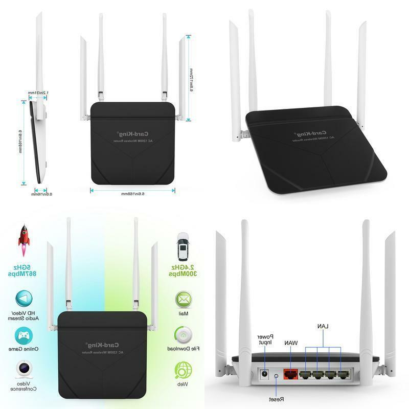 wireless router with wifi repeater long range