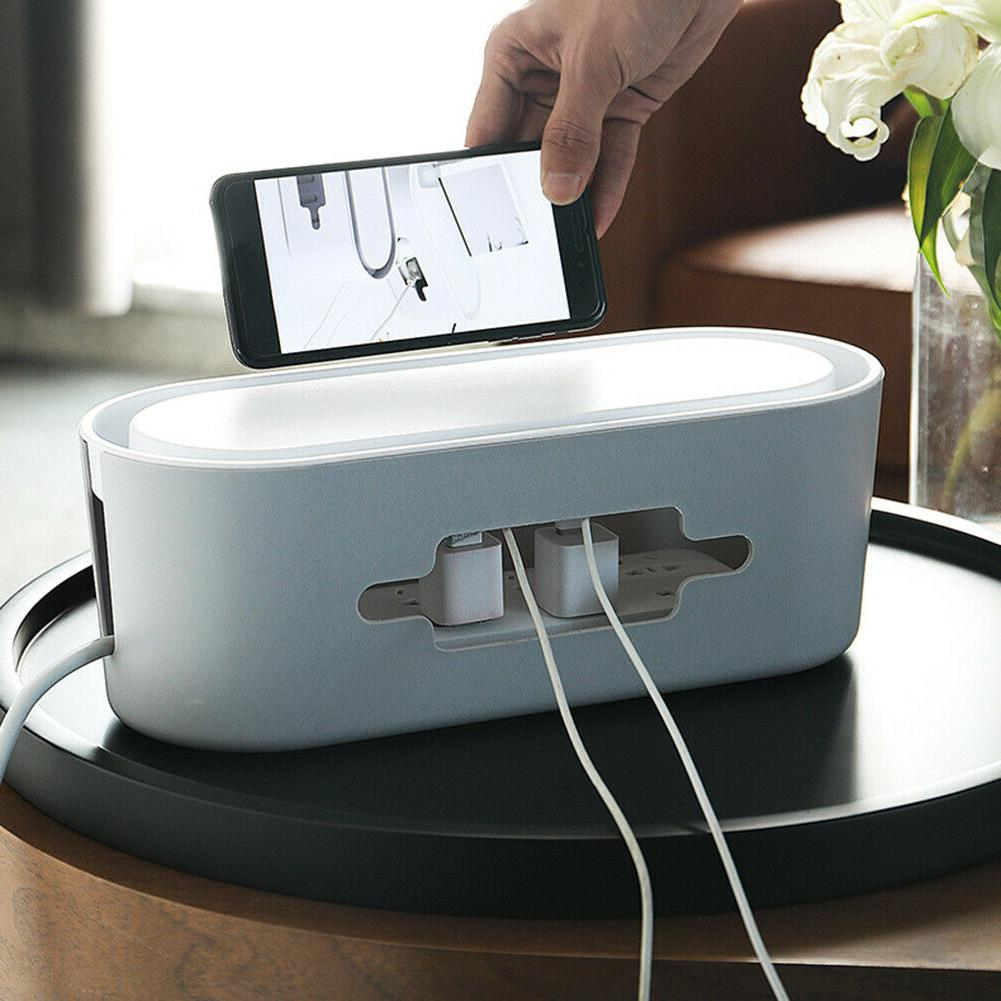 cable storage case wireless wifi router socket