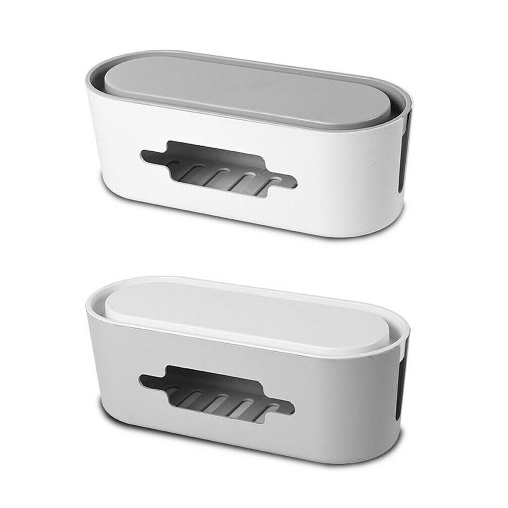 Wireless WiFi Router Box Power Charger Wire Management Cable