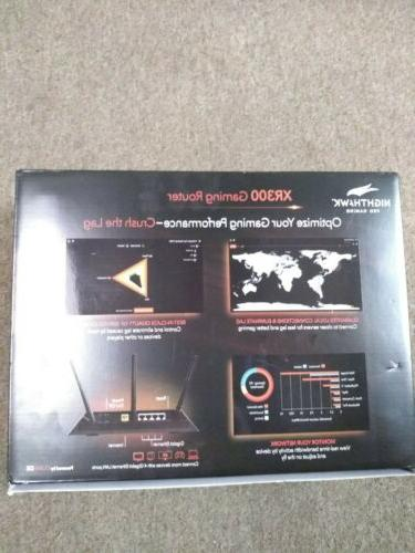 NETGEAR XR300-100NAS Nighthawk Gaming WiFi
