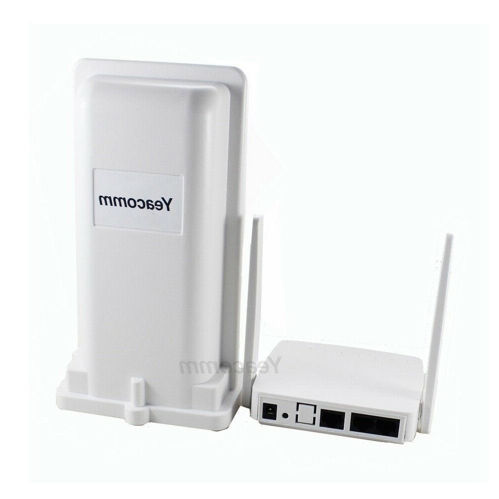 Yeacomm YF-P11K 4g LTE outdoor CPE router and indoor AP WIFI