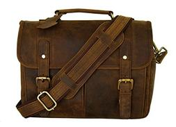 Leather Camera Messenger Bag for DSLR/Mirrorless Camera by B