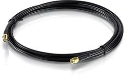 TRENDnet Low Loss RP-SMA Male to RP-SMA Female Antenna Cable