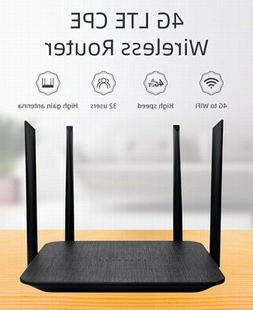 LT210F 4G LTE WiFi Router Hotspot CAT4 300Mbps SIM Card CPE