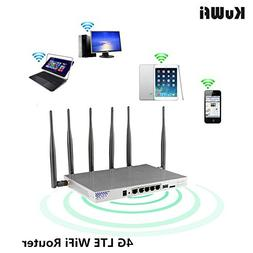 KuWFi 4G LTE 802.11AC 1200Mbps Dual band 2.4-5.0GHz Wireless