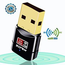 WIFOX USB Wifi Adapter - Dual Band 2.4G/5G USB Wireless Netw