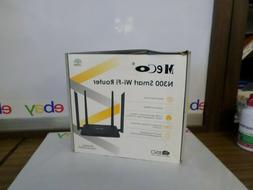 MECO N300 Smart Wifi Router  Black MC-WR630S NEW