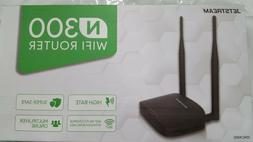 Jetstream N300 Wifi Router 2.4GHz, 802.11 High Transfer Rate