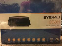 Linksys N600 E2500-NP Dual Band Wireless N 4-Port Wi-Fi Rout