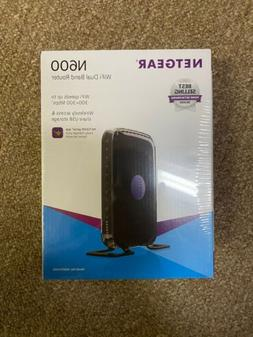Netgear N600 WiFi Dual Band Router  BRAND NEW