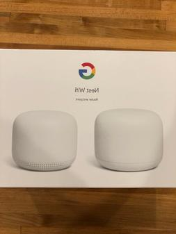 Google Nest Wifi Router Dual Band Mesh System + Access Point