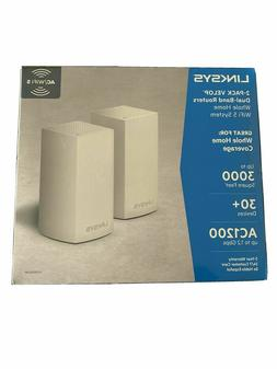 NEW LINKSYS 2-Pack VELOP Dual Band Routers Whole Home WiFi V