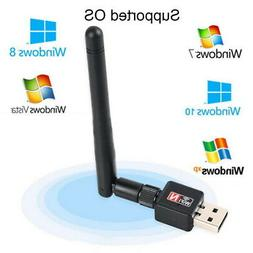 NEW 600Mbps USB Wifi Router Wireless Adapter PC Network LAN