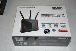 New! ASUS AC2900 WiFi Dual-band Gigabit Wireless Router with