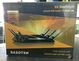 NEW! NETGEAR NIGHTHAWK X6 AC3200 Tri-Band WiFi Router R8000-