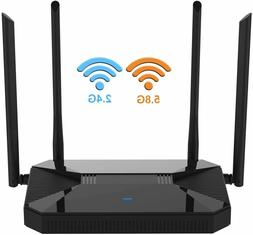 【Newest 2020】 Wireless WiFi Router High Speed Gaming Rou